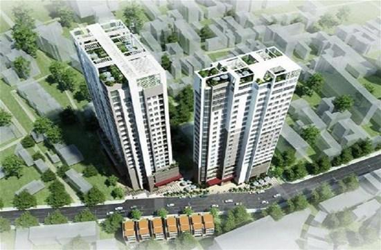 Dự án tăng áp hút khói dự án chung cư 536 Minh Khai