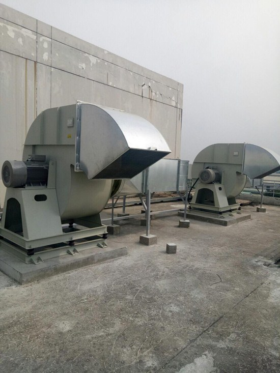 Dự án tăng áp hút khói nhà máy Meiko Thạch Thất