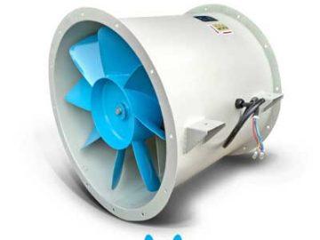 Quạt hút hướng trục được sử dụng rộng rãi trong các nhà xưởng, khu công nghiệp