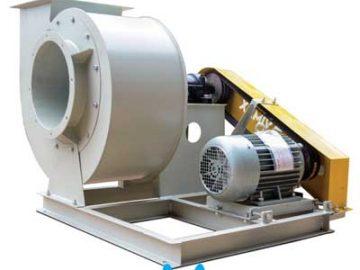 Quạt hút ly tâm cao áp là máy khí dùng để hút hoặc đẩy không khí hoặc các khí khác