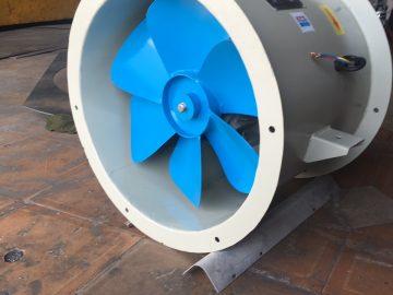 Quạt hướng trục nối ống gió chuyên dùng để tăng áp cho đường ống