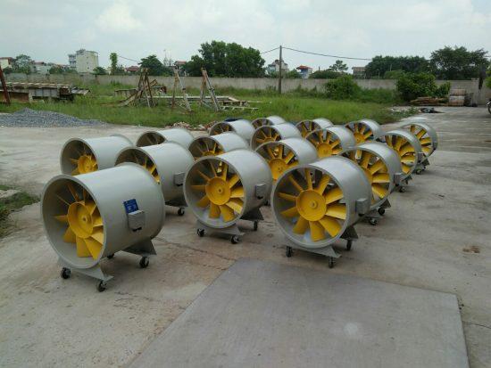 Quạt đồng trục VIMAX có lưu lượng gió lớn, độ ồn thấp, tiết kiệm điện năng