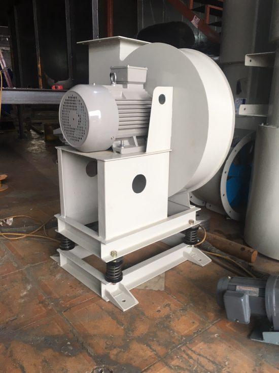Sản phẩm quạt cao áp là quạt hút có áp suất rất lớn tạo áp