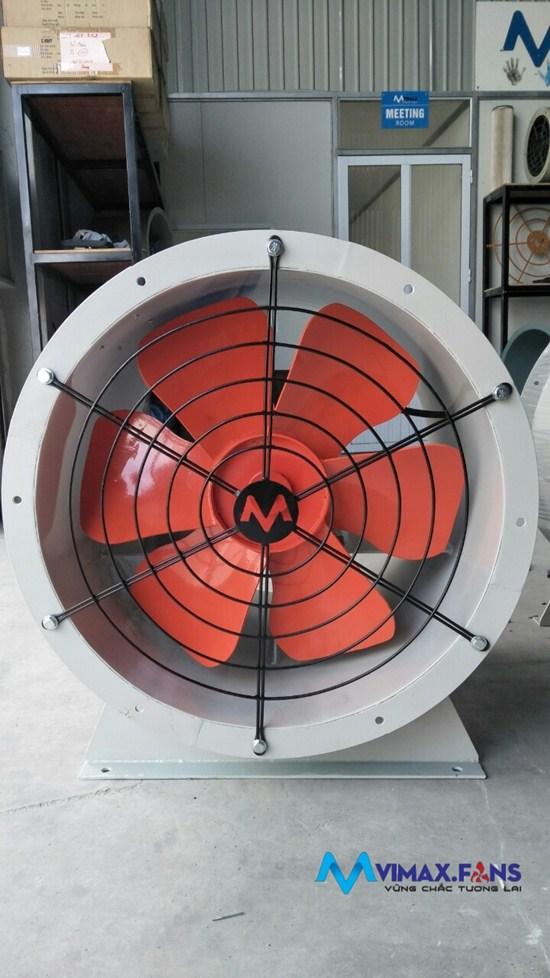 Cấu tạo và chức năng của quạt công nghiệp cánh nhôm