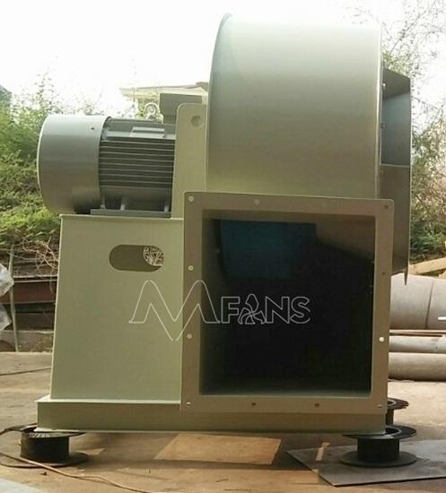 Quạt ly tâm áp suất thấp VIMAX cấp khí phòng cháy chữa cháy