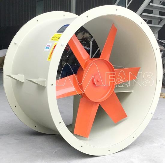 Đặc điểm quạt gió hướng trục công nghiệp trực tiếp, gián tiếp