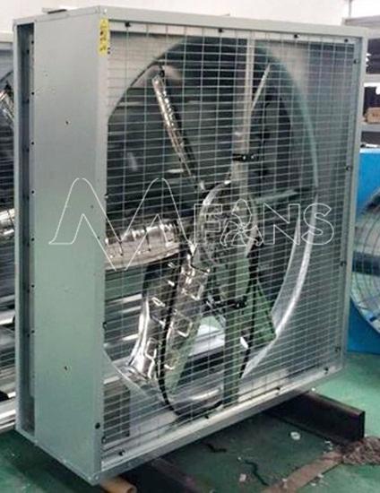 Quạt thông gió hướng trục trong công nghiệp