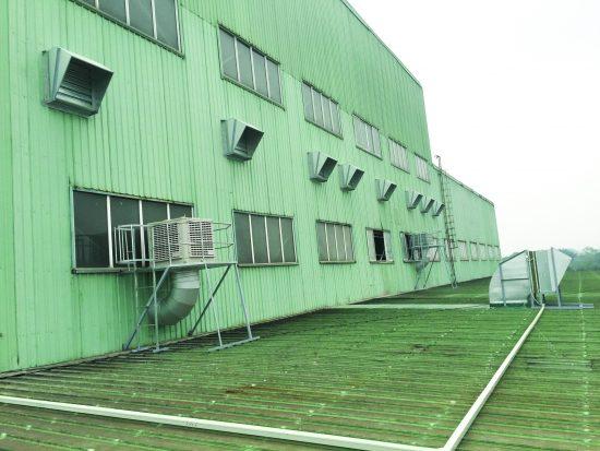 Thi công lắp đặt hệ thống quạt thông gió nhà xưởng