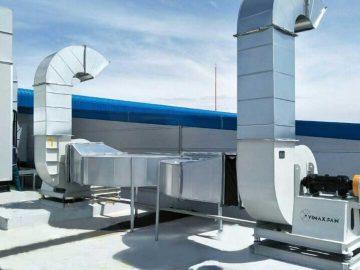 Hệ thống quạt tăng áp cầu thang – Tăng áp buồng thang PCCC