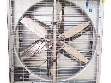 Quạt hướng trục thân vuông gián tiếp thông gió, hút gió… và làm mát