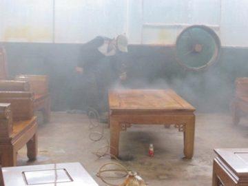 Thiết kế hệ thống hút bụi phòng sơn theo yêu cầu của khách hàng