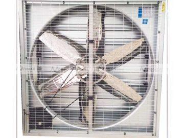 Hệ thống quạt công nghiệp làm mát kết hợp với tấm làm mát cooling pad