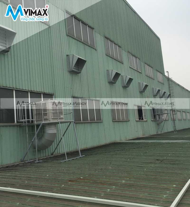 quạt hút công nghiệp 1380x1380x400