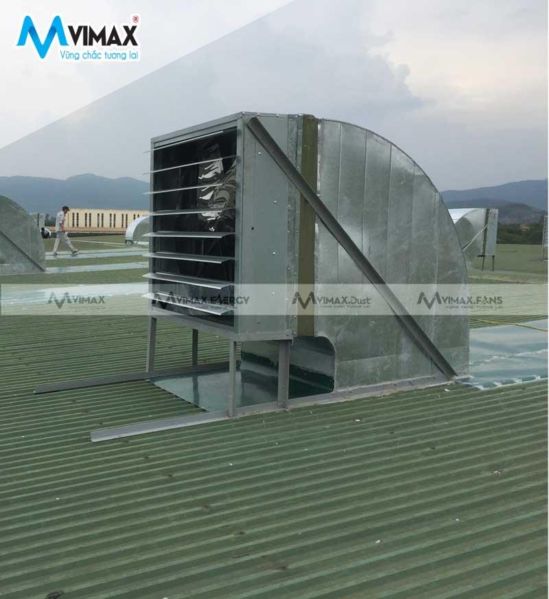 Quạt hút công nghiệp 1 pha 3 pha từ kích thước 800x800 đến 1380x1380