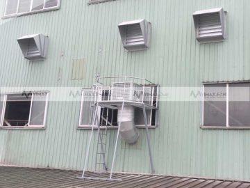 Giá quạt hút công nghiệp 900x900x400 trực tiếp từ nhà máy