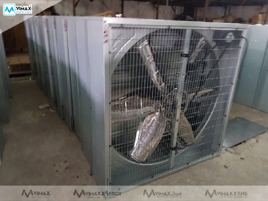 lắp đặt quạt thông gió nhà xưởng