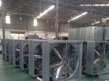 Quạt thông gió vuông kết hợp hệ thống làm mát coolingpad