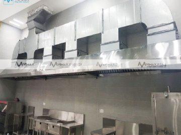 Kinh nghiệm thi công quạt hút mùi bếp công nghiệp
