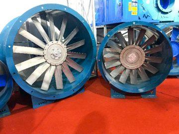 Mùa hè nên sử dụng quạt thông gió công nghiệp nào ?