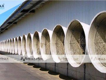 Các lưu ý khi lắp đặt quạt thông gió làm mát nhà xưởng