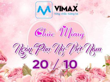 Cơ điện Vimax chúc mừng Quốc tế Phụ nữ Việt Nam (20/10)
