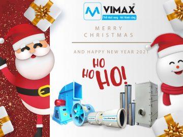 Cơ điện Vimax Chúc Mừng Giáng Sinh & Chúc mừng năm mới 2021