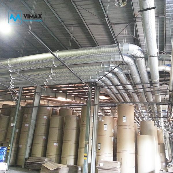 Hệ thống Xử lý bụi Bao Bì KCN Hải Dương
