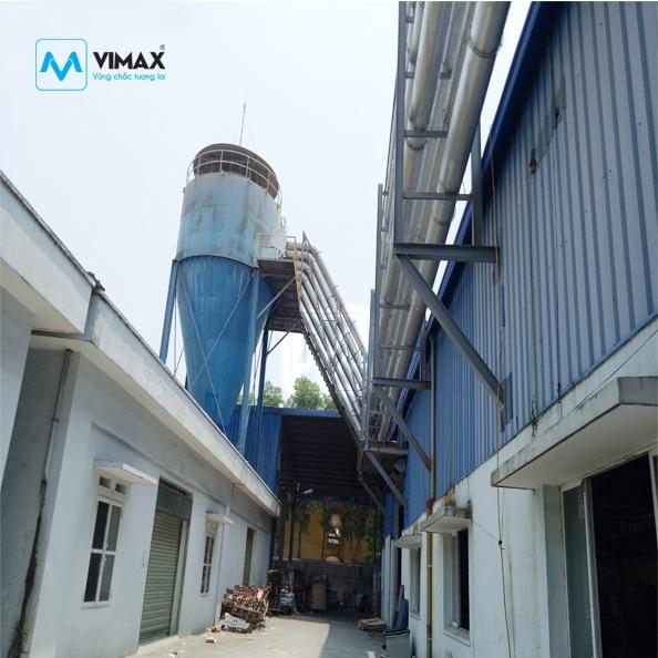 Hệ thống Xử lý bụi Bao Bì KCN Bắc Giang