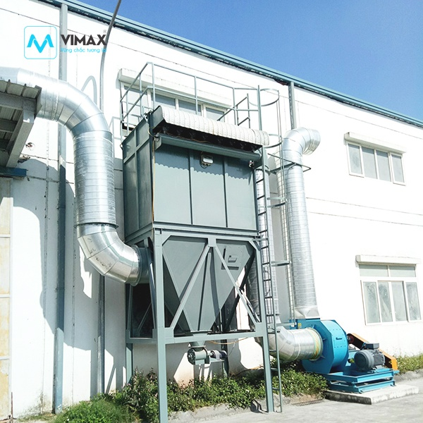 Hệ thống Xử lý bụi Bao Bì KCN Bắc Ninh