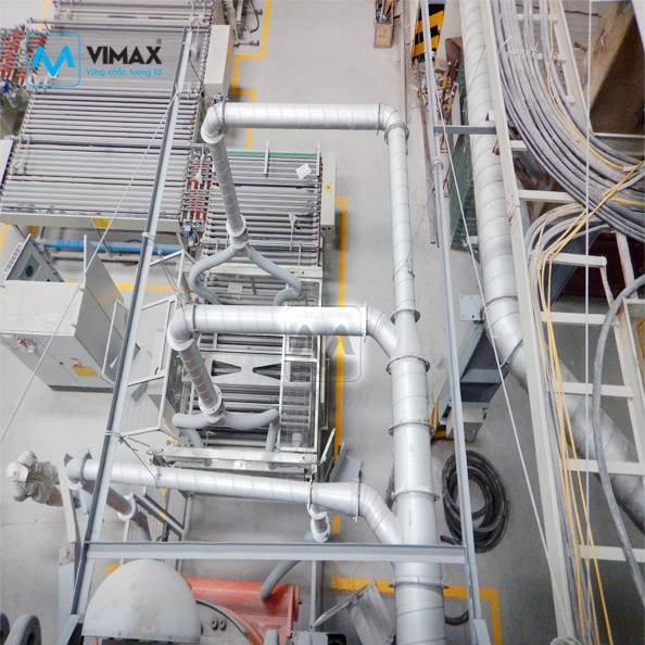 Hệ thống Xử Lý Bụi Gạch KCN Đồng Văn II