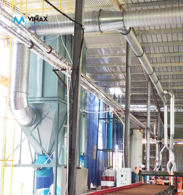 Hệ thống Xử lý bụi gỗ KCN Thạch Thất