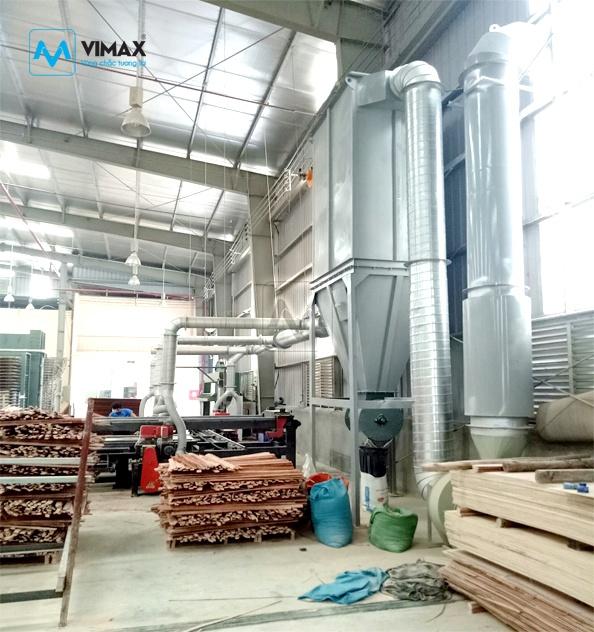 Hệ thống Xử lý bụi gỗ KCN Lâm Đồng