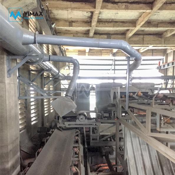 Hệ thống Xử lý bụi xi măng KCN Hưng Yên