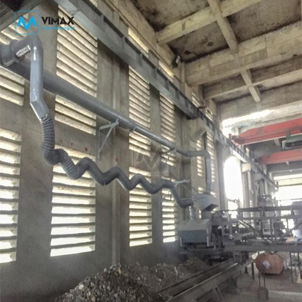 Hệ thống Xử lý bụi xi măng KCN Đồng Văn